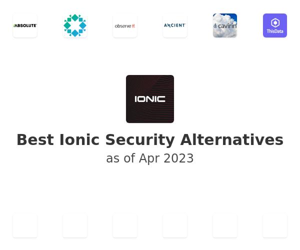 Best Ionic Security Alternatives