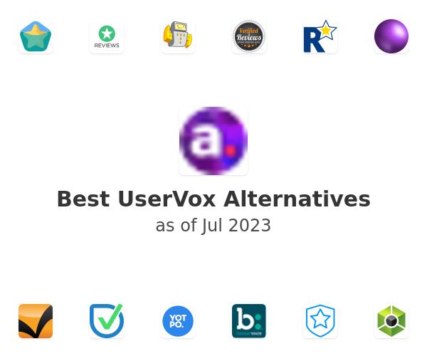 Best UserVox Alternatives