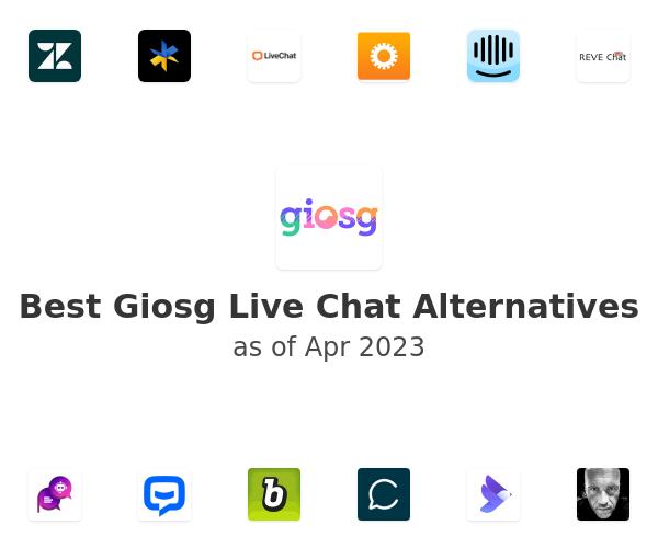 Best Giosg Live Chat Alternatives