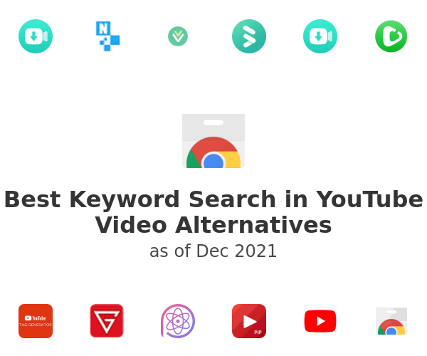 Best Keyword Search in YouTube Video Alternatives