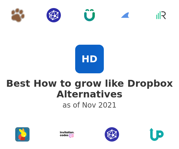 Best How to grow like Dropbox Alternatives