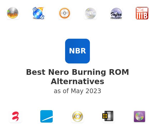 Best Nero Burning ROM Alternatives