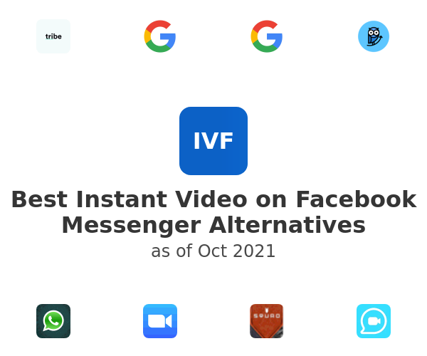 Best Instant Video on Facebook Messenger Alternatives