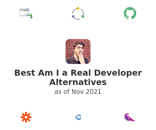 Best Am I a Real Developer Alternatives