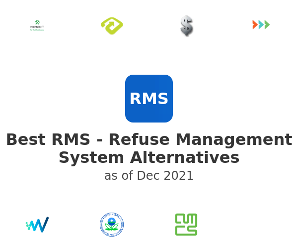 Best RMS - Refuse Management System Alternatives