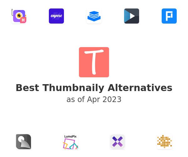 Best Thumbnaily Alternatives