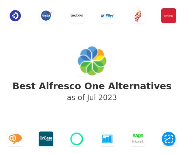 Best Alfresco One Alternatives