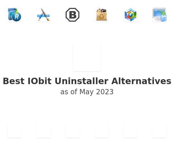 Best IObit Uninstaller Alternatives