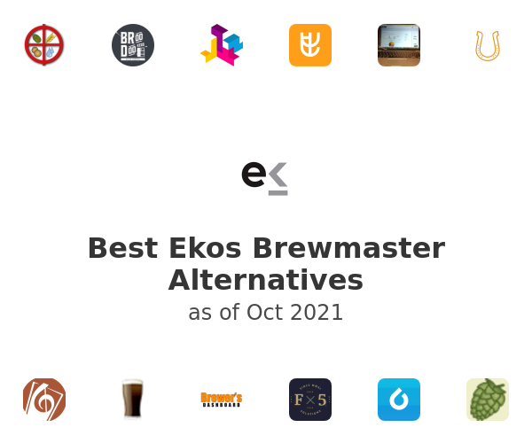 Best Ekos Brewmaster Alternatives