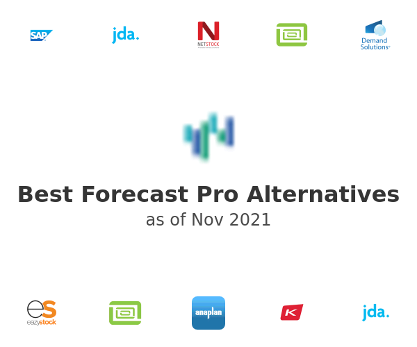 Best Forecast Pro Alternatives