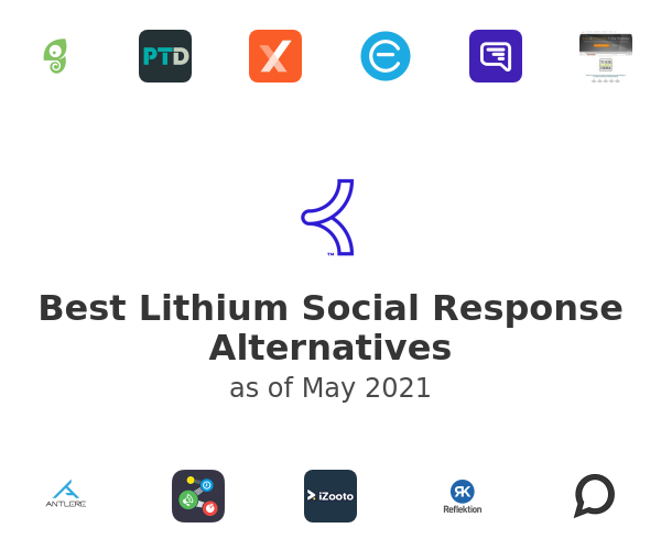 Best Lithium Social Response Alternatives