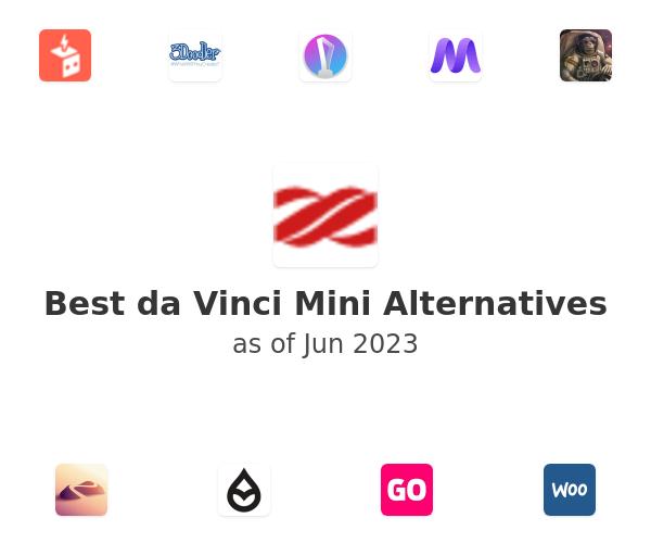 Best da Vinci Mini Alternatives