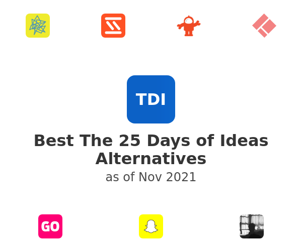 Best The 25 Days of Ideas Alternatives