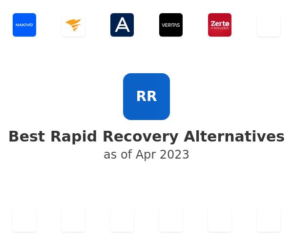 Best Rapid Recovery Alternatives
