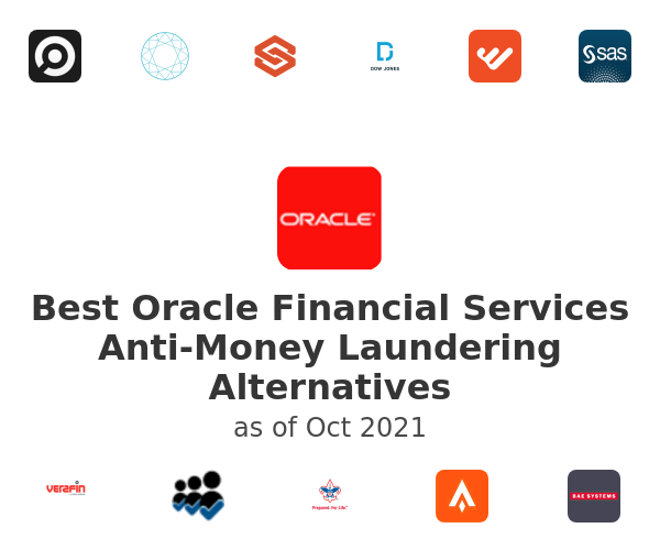 Best Oracle Financial Services Anti-Money Laundering Alternatives