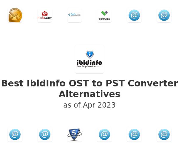 Best IbidInfo OST to PST Converter Alternatives