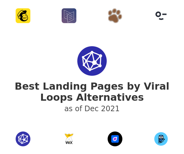 Best Landing Pages by Viral Loops Alternatives