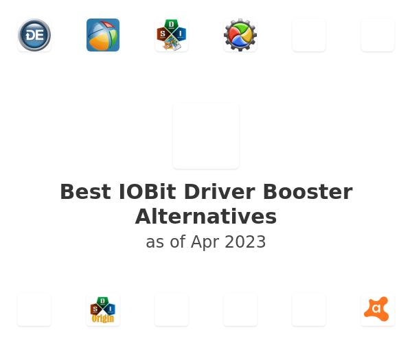 Best IOBit Driver Booster Alternatives