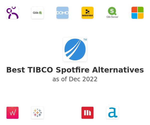 Best TIBCO Spotfire Alternatives