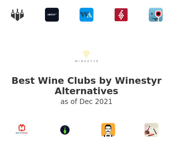 Best Wine Clubs by Winestyr Alternatives