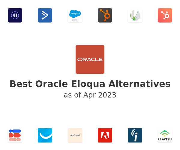 Best Oracle Eloqua Alternatives