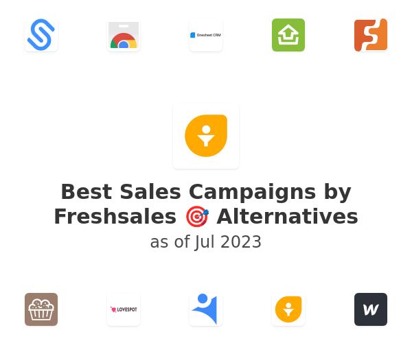 Best Sales Campaigns by Freshsales 🎯 Alternatives