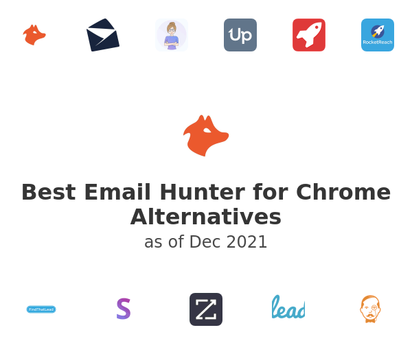 Best Email Hunter for Chrome Alternatives
