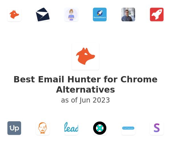 Best Email Hunter for Chrome Alternatives