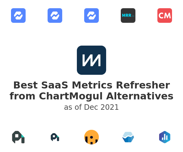 Best SaaS Metrics Refresher from ChartMogul Alternatives