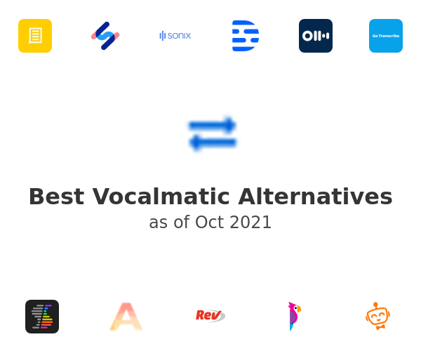 Best Vocalmatic Alternatives