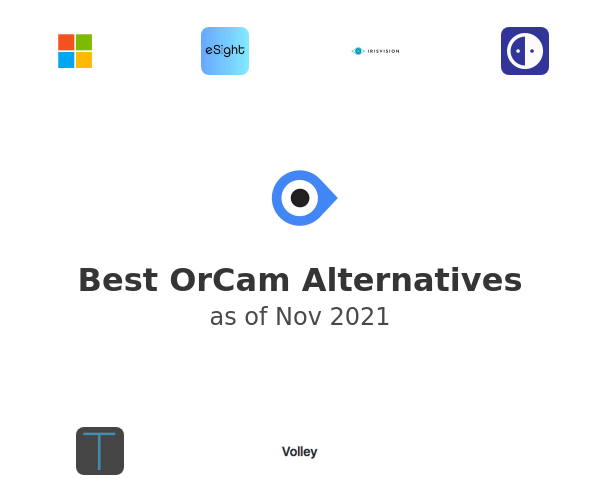 Best OrCam Alternatives