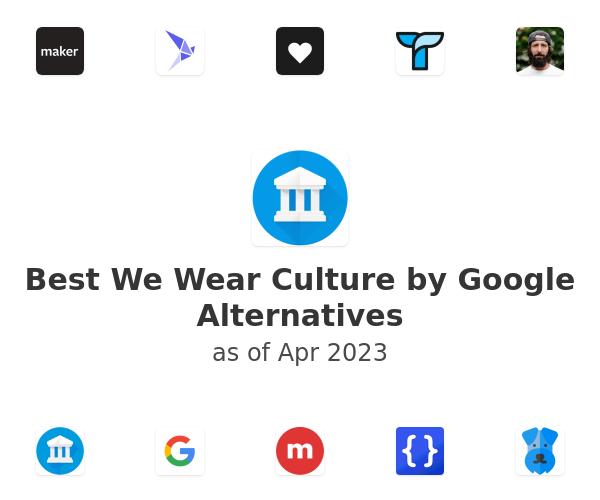 Best We Wear Culture by Google Alternatives