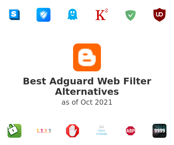 Best Adguard Web Filter Alternatives