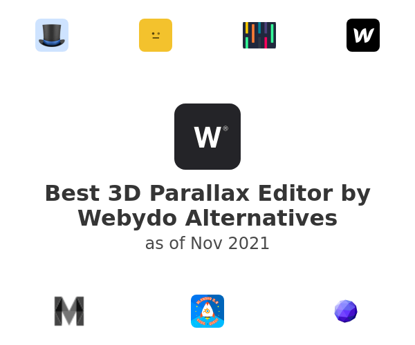 Best 3D Parallax Editor by Webydo Alternatives
