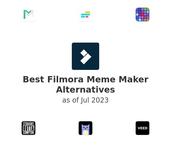 Best Filmora Meme Maker Alternatives