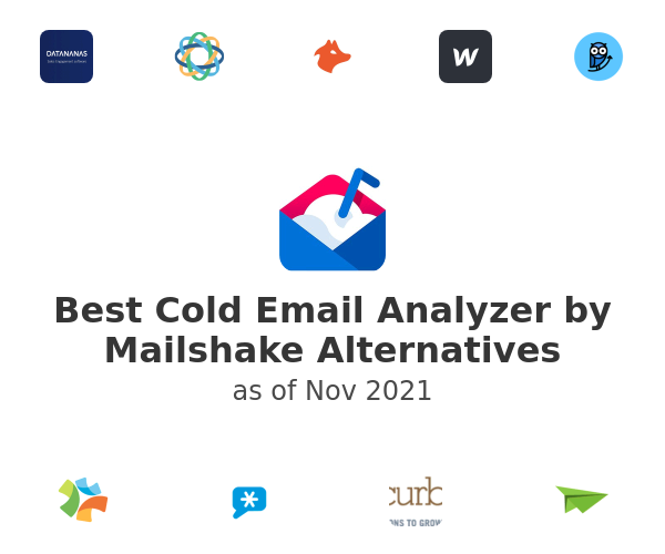 Best Cold Email Analyzer by Mailshake Alternatives