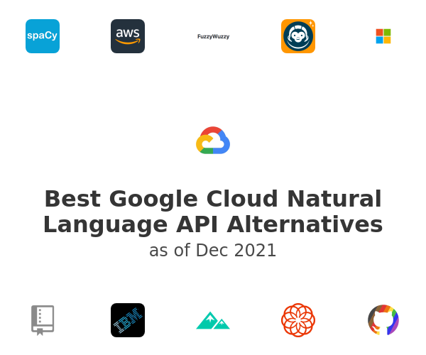 Best Google Cloud Natural Language API Alternatives
