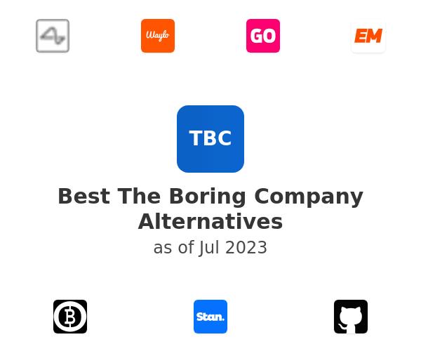 Best The Boring Company Alternatives
