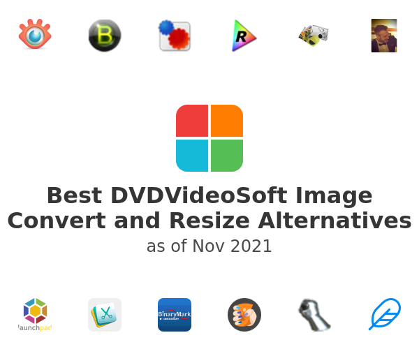 Best Free Image Convert and Resize Alternatives