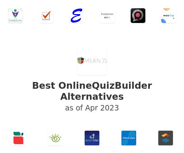 Best OnlineQuizBuilder Alternatives