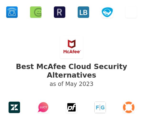 Best McAfee Cloud Security Alternatives