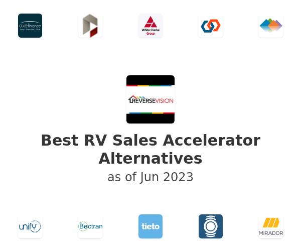Best RV Sales Accelerator Alternatives
