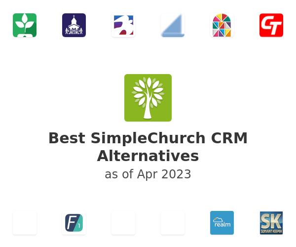 Best SimpleChurch CRM Alternatives