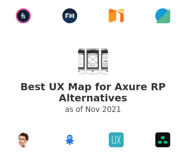 Best UX Map for Axure RP Alternatives