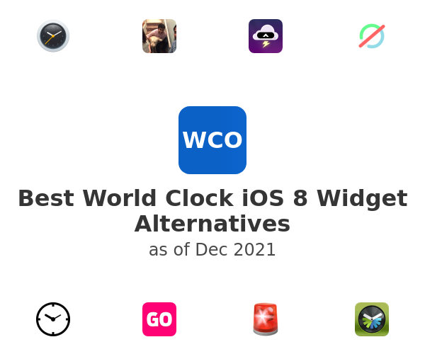 Best World Clock iOS 8 Widget Alternatives