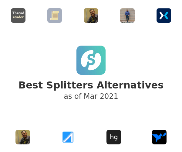 Best Splitters Alternatives
