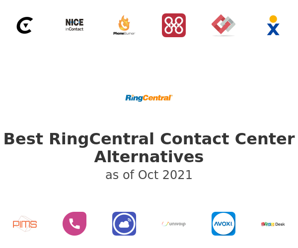 Best RingCentral Contact Center Alternatives