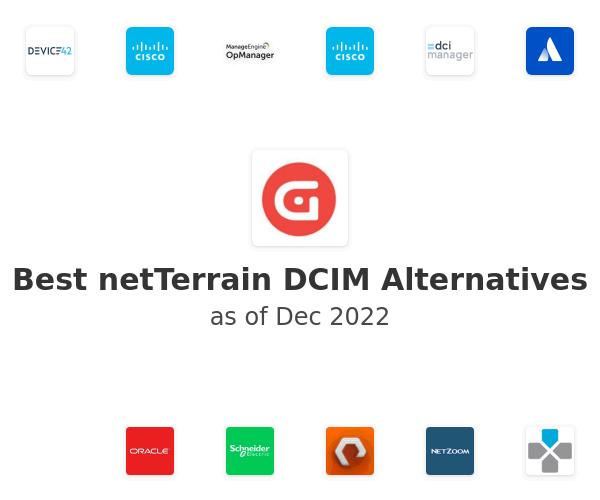 Best netTerrain DCIM Alternatives