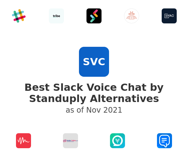 Best Slack Voice Chat by Standuply Alternatives