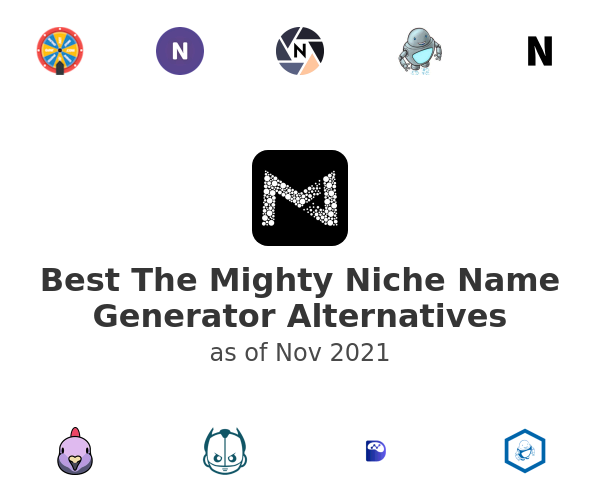 Best The Mighty Niche Name Generator Alternatives
